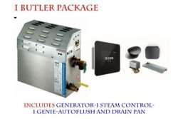 Mr Steam MS-90-E Steam Bath Generator with I Butler Package