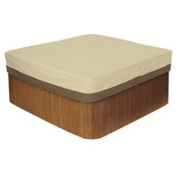 Classic Accessories 55-586-011501-00 Veranda Square Hot Tub Cover, Large