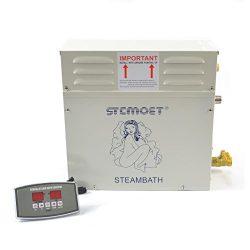 9kw 220v Steam Generator Sauna Bath Steamer for Home SPA Shower with Digital Controller Temperat ...