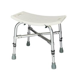 Mefeir Heavy Duty Medical Shower Chair Bath Seat , Transfer Bench Stool Upgrade Framework SPA Ba ...
