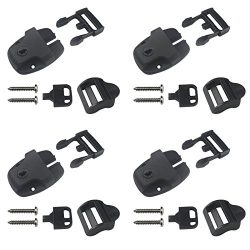 4 Spa Hot Tub Cover Broken Latch Repair Kit Clip Lock with key and hardware-NEW