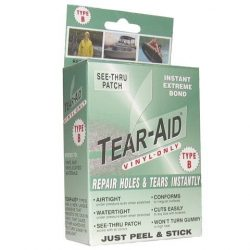 Hot Tub Maintenance & Cleaning Repair Kit TEAR-AID Vinyl 6420