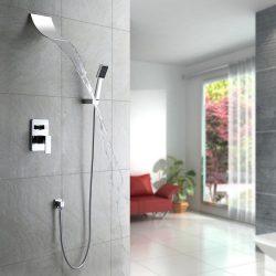 LightintheboxSingle Handle Wall Mounte Shower Faucet / Bathtub Faucet Contemporary Waterfall / R ...