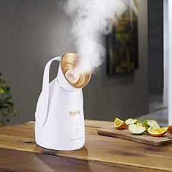 NanoSteamer-Argus Le Home Nano Ionic Facial Steamer with Portable Professional Facial Sauna Syst ...