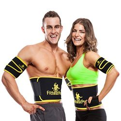 Fittest Pro Waist Trimmer Slimming Flex Sauna Belt – Belly, Fat Loss, Weight Loss Belt  ...