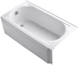 KOHLER K-721-0 Memoirs 5-Foot Bath, White