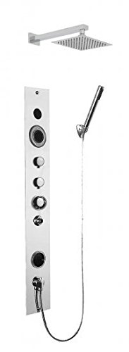 Serene Steam Complete Luxury Home Shower Steam System,Build In Premium Bluetooth Includes Aromat ...