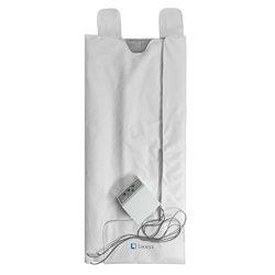 Loozys Digital Far-Infrared (FIR) Heat Sauna Blanket with 3 Zone Controller