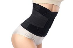 LEFV™ Waist Trimmer Belt Premium Trim Curves Trainer Adjustable Ab Sauna Stomach Body Wra ...