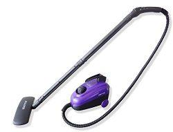 Sienna Eco SSC-0312 Multi Purpose Steam Cleaner, Portable Steam Canister, Hardwood Floor Steamer ...