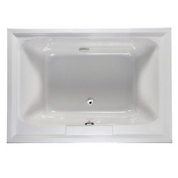American Standard 2748.002.020 Town Square 5-Feet by 42-Inch Bath Tub, White