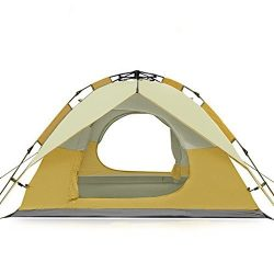 FiveJoy Instant 3 Person 3 Season Dome Tent – Double-Wall Two-Door Bathtub Floor Freestand ...