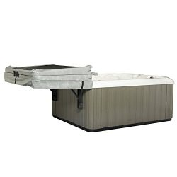 The Slider Spa Cover No-Lift Remover & Storage System – Dual Roller Retractable Arms
