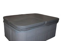 84 x 84 Inch Replacement Spa Cover and Hot Tub Cover – Charcoal