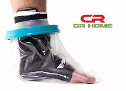 Waterproof Foot Cast Cover for Shower – Keep Bandages & Casts Dry and Watertight in th ...