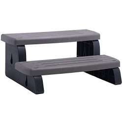 Waterway Plastic 535-2209-CHG Spa Step Charcoal