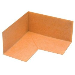 Schluter Systems Kereck/fi 2 Kerdi Inside Waterproofing Corner, 4 Mil Thickness, Pack of 2