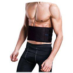 Waist Trainer Trimmer Shaper for Women Men Weight Loss, Ab Belt, Stomach Wrap Sauna Belts, Helps ...