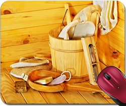 Liili Mousepad ID: 22259187 Still life with sauna accessories Indoor