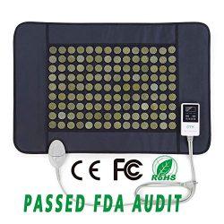 "UTK® Far Infrared Natural Jade Heating Pad for pain relief,Medium(21""x31"")"