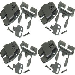 ( pack of 4 ) Spa Hot Tub Cover latch Broken Latch Repair Kit repair Clip Lock with keys and har ...