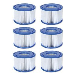 Coleman Spa Filter Pump Replacement Cartridge Type VI 90352 (6 Pack) (Bestway)