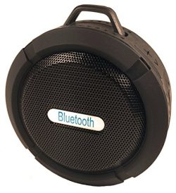 Portable Bluetooth Wireless Waterproof Speakers. Use in the Shower, Hot Tub and Pool – Exc ...