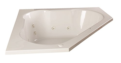 Clarke Products WC6060TP-01CMH Eureka II Whirlpool, drop-in only 60″ x 60″, White