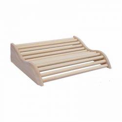 Curved Aspen Sauna Headrest (14 1/2″ x 10 3/4″)