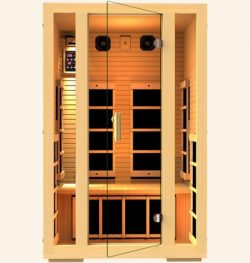 Joyous 2 Person FAR Infrared Sauna- MG215HB