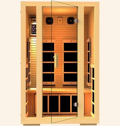 Joyous 2 Person FAR Infrared Sauna- MG215HB