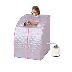 Eosphorus New Upgraded Quality Portable Home Steam Sauna Health Beauty Salon Home Use Slimming L ...