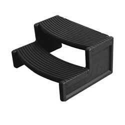 Confer HS2BLK Handi Step 2 Spa Step44; Black