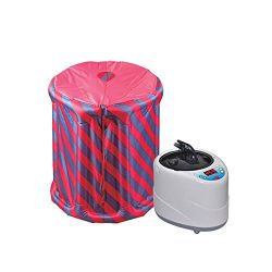 HUKOER Sauna Steam Home Inflatable portable sauna Box Aromatherapy Spa Steam Sauna Tent Steamer  ...