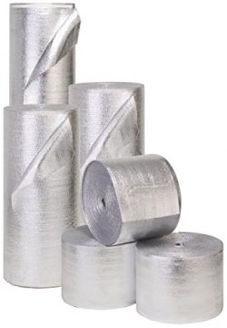 Reflective Foam Core Solid Vapor Barrier Sauna Duct Pipe Attic Wrap 3ft x 90ft