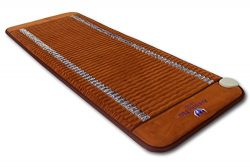 "Far InfraRed Amethyst Mat Compact PRO 59″L x 24""W – Made in Korea – Deep Penet ..."