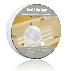 Anti Slip Tape Bathtub and Shower Treads , Safety Walk Self Adhesive Non-Slip Tape by Yorwe (1&# ...