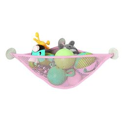 Bath Toy Organizer Bathroom Mesh Net Baby Bathtub Storage Corner Shower Caddy Bag for Toddler Kids