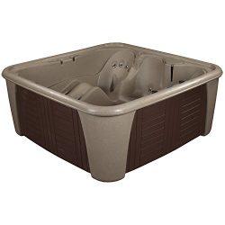 Essential Hot Tubs – Rainier – 24 Jets, Cobblestone/Esspresso Panels