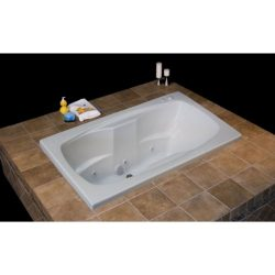 Carver Tubs AR7242 72 inch x 42 inch Whirlpool I Package – 6 Jets