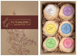 Bath Bombs – Gift Set – Best Gift Ideas – Natural Organic Essential Oil Fizzie ...
