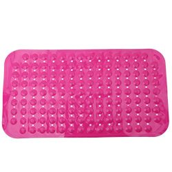 Dolland Non-slip Bathtub Mats Massaging Bath and Shower, PVC Anti-Bacterial Anti-Slip-Resistant  ...