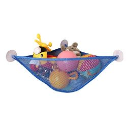 Bath Toy Organizer Bathroom Mesh Net Baby Bathtub Storage Corner Shower Caddy Bag for Toddler Kids