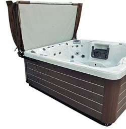 Smart Spa – Pro Max AL3 Hydraulic spa hot tub cover lift w dual lifting shocks
