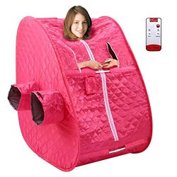 Anfan 2L Portable Home Steam Sauna SPA Personal Therapeutic Steam Sauna Tent for Weight Loss &am ...