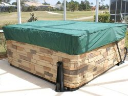 CoverMates – Square Hot Tub Cover – Cap 92W x 92D x 14H – Classic Collection – 2 YR Warranty – Y ...