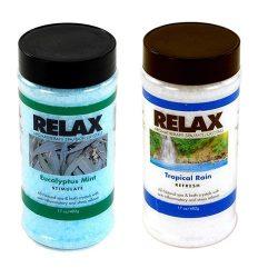 Eucalyptus Mint & Tropical Rain -17 Oz- Spa Aroma Therapy Fragrance Crystals – All Natural V ...