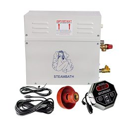ECO LLC 220V 9KW Steam Generator Sauna Bath Home Spa Shower ST-90 and ST-135 Controller