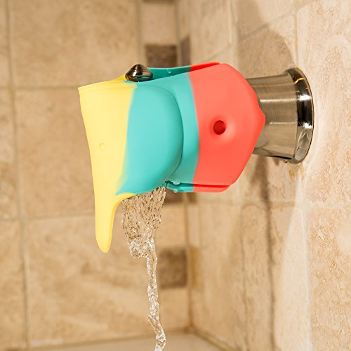 Bath Spout Cover Offers A Soft Amp Flexible Silicone Bath