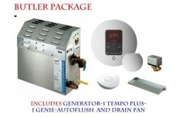 MrSteam MS-400-E Steam Bath Generator with Butler Package